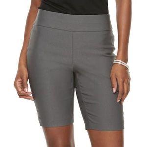 Apt. 9® Brynn Midrise Pull-On Bermuda Shorts